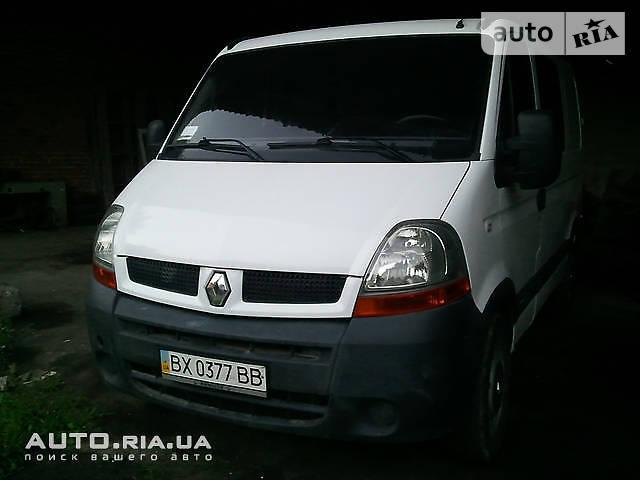 Renault Master пасс. 2005 року