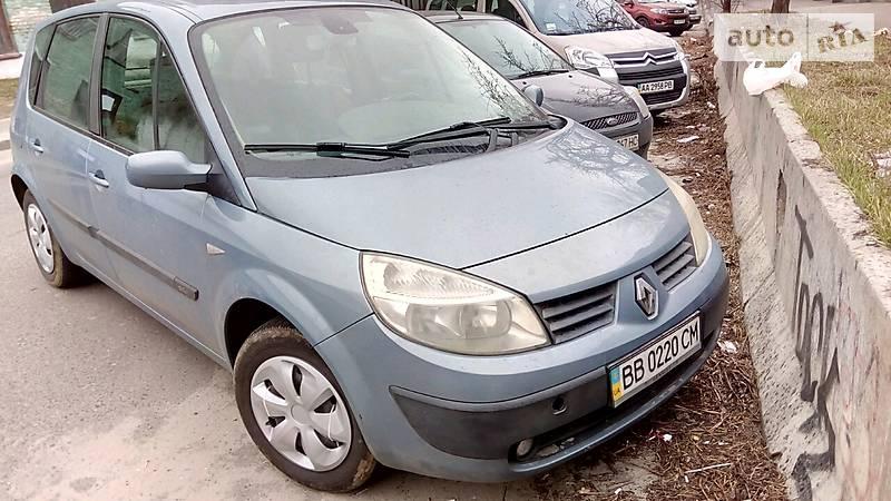 Renault Scenic 2005 года