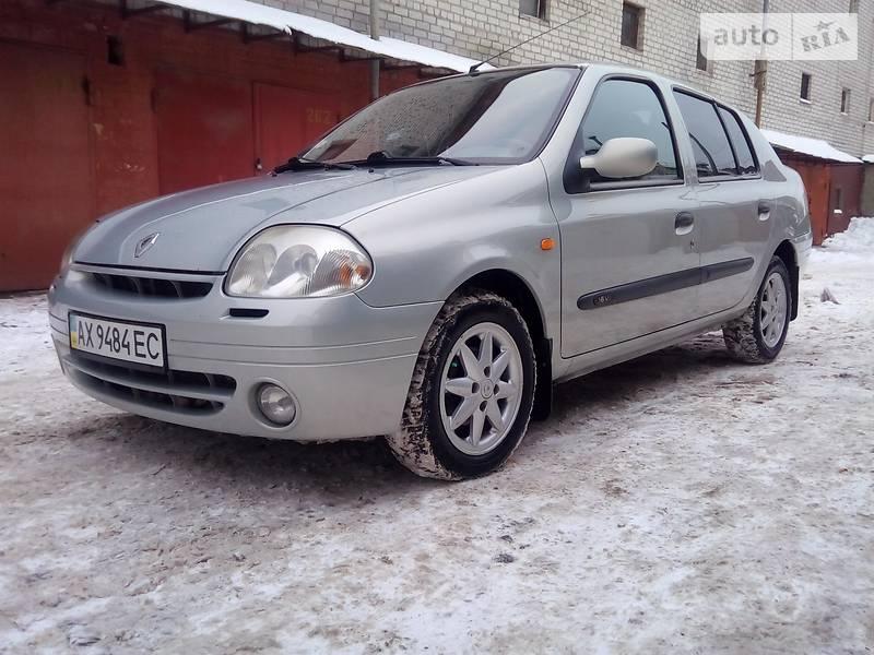 Renault Symbol 2001 года