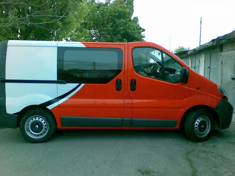 Renault Trafic 2004 года