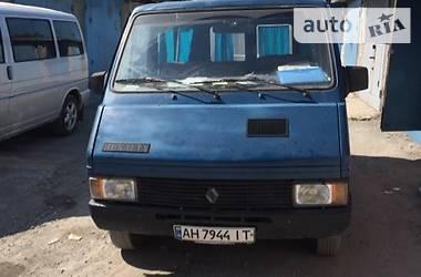 Renault Trafic пасс.  1986