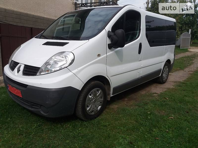 Renault Trafic 2007 года