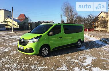 Renault Trafic пасс. ORUGINALNUY LONG 2016