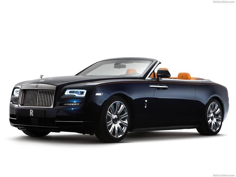 Rolls-Royce Dawn 2017 года
