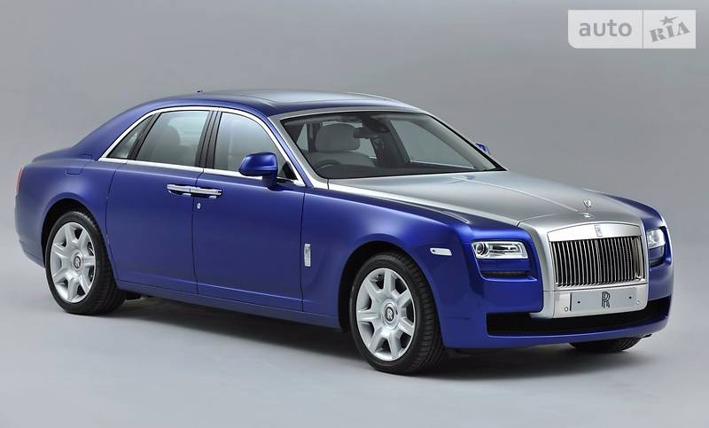 Rolls-Royce Ghost 2017 года