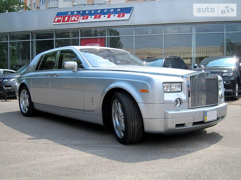 Rolls-Royce Phantom 2007 года