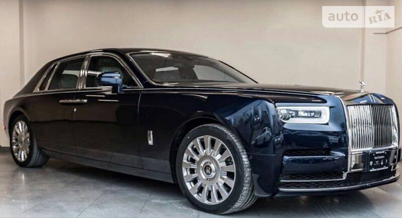 Rolls-Royce Phantom 2018 года