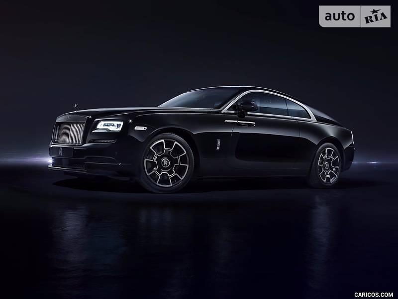 Rolls-Royce Wraith 2017 года