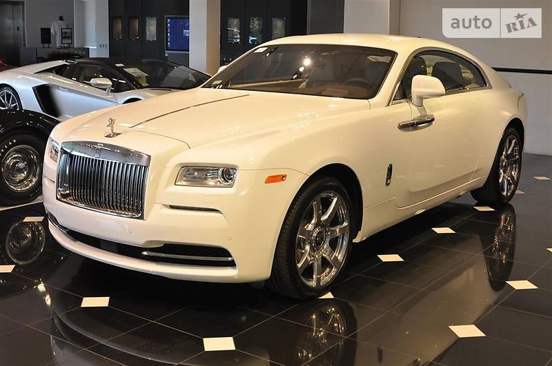 Rolls-Royce Wraith 2017 року