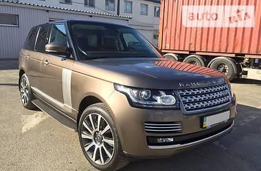 Rover Range Rover  Autobiography 2014