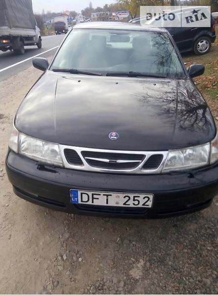 Saab 9-5 2001 года