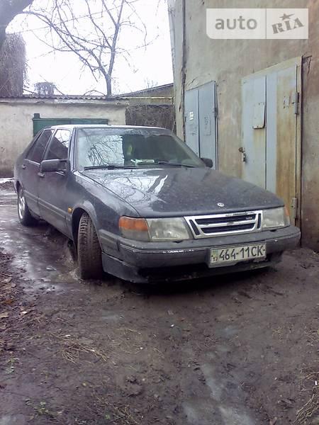 Saab 9000 1989 года
