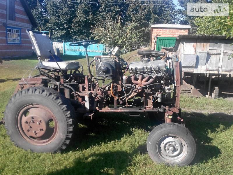 Самодельный трактор с двигателем москвич 412 149