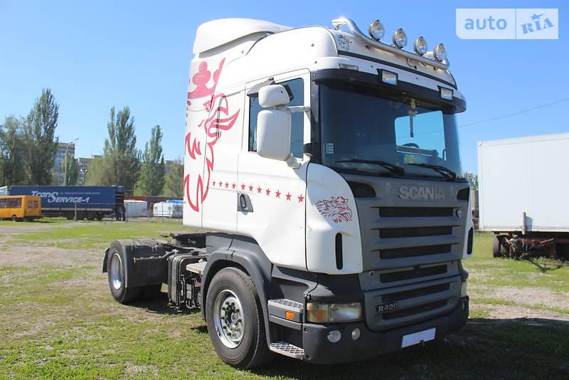 Scania R 420 2006 года