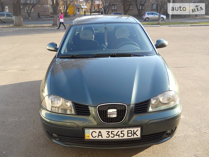 SEAT Ibiza 2003 року