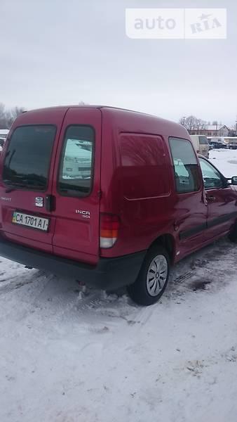 SEAT Inca 2001 року