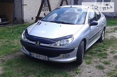 Характеристики Peugeot 206 Седан