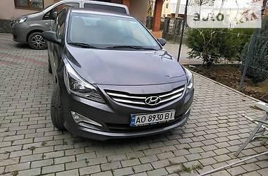 Характеристики Hyundai Accent Седан