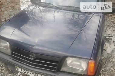 Характеристики Opel Ascona Седан