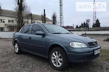 Характеристики Opel Astra G Седан
