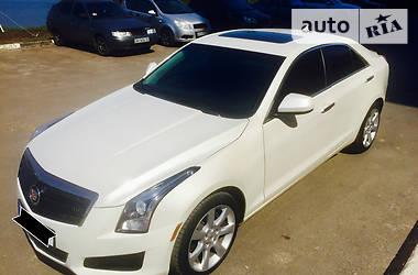 Характеристики Cadillac ATS Седан