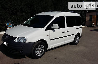 Характеристики Volkswagen Caddy пасс. Седан