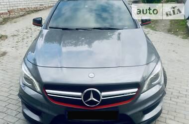 Характеристики Mercedes-Benz CLA 45 AMG Седан
