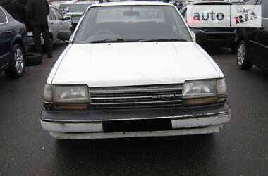 Характеристики Toyota Corona Седан