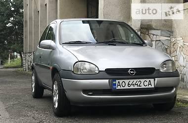 Характеристики Opel Corsa Седан