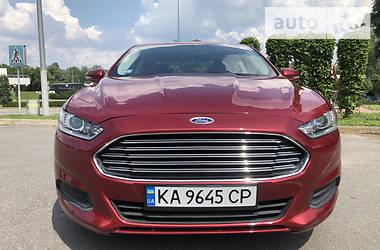 Характеристики Ford Fusion Седан