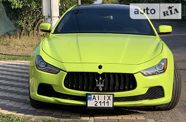Характеристики Maserati Ghibli Седан