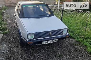 Характеристики Volkswagen Golf II Седан