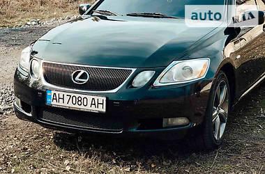 Характеристики Lexus GS 350 Седан