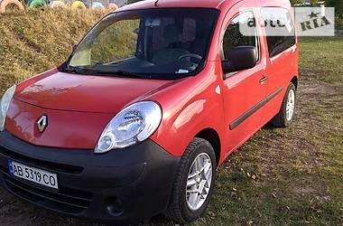 Характеристики Renault Kangoo пасс. Седан
