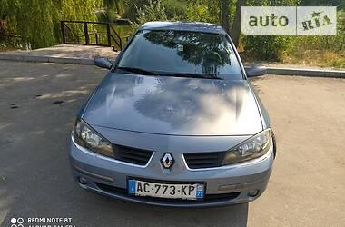 Характеристики Renault Laguna Седан