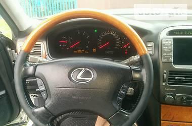 Характеристики Lexus LS 430 Седан