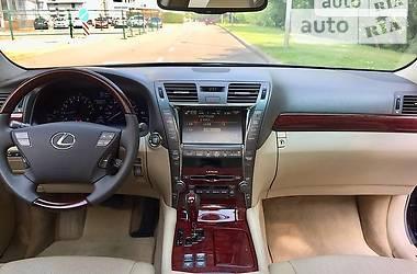 Характеристики Lexus LS 460 Седан