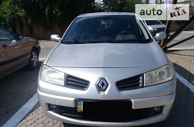 Характеристики Renault Megane Седан