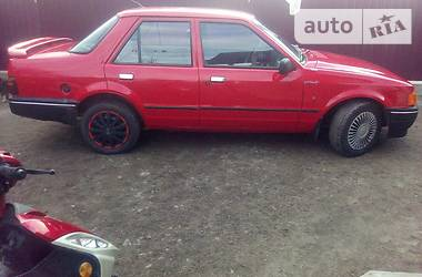 Характеристики Ford Orion Седан