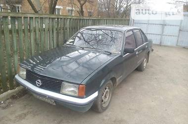 Характеристики Opel Rekord Седан