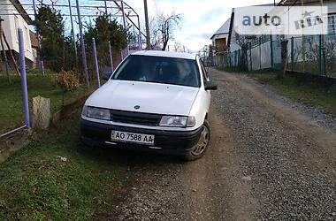 Характеристики Opel Vectra A Седан