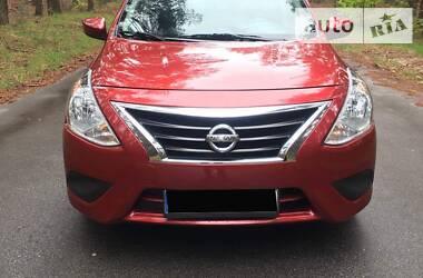 Характеристики Nissan Versa Седан