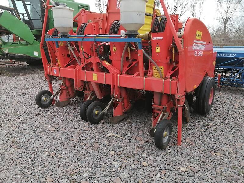 Картофелесажалка, машина для посадки картофеля Grimme