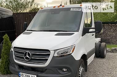 Характеристики Mercedes-Benz Sprinter 519 груз. Шасси