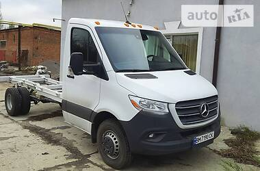 Характеристики Mercedes-Benz Sprinter 519 груз. Шасси
