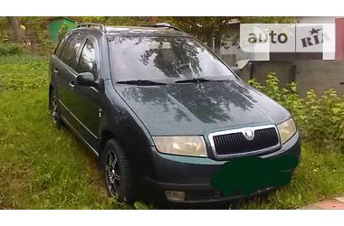 Skoda Fabia Combi 1.4  2002