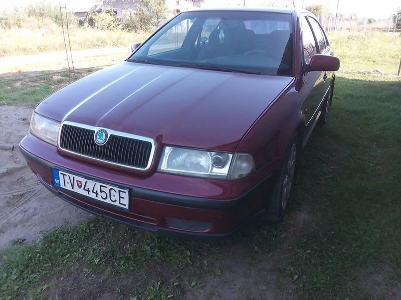 Skoda Octavia 1998 года