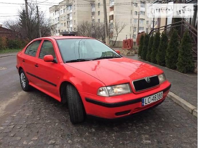 Skoda Octavia 2000 года