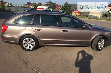 Skoda Superb 1.6 TDI GreenLine 2012