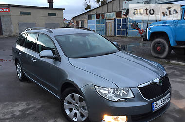 Skoda Superb Greenline 2011